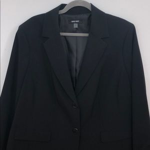 Nine West Black Blazer (Plus Size)